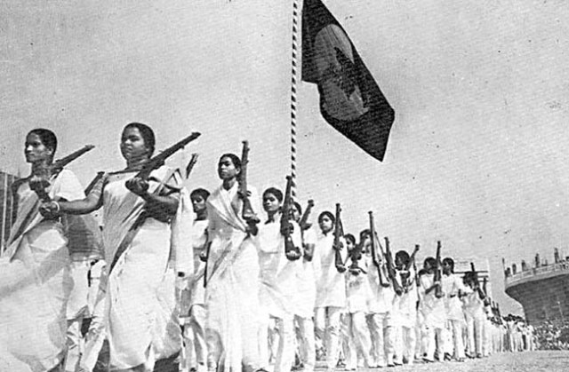 Women freedom fighters in Bangladesh