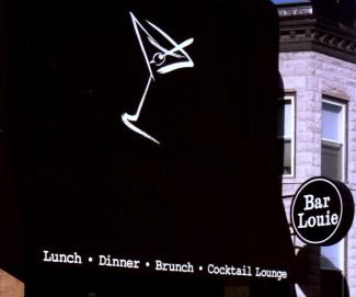 Bar Louie Sign