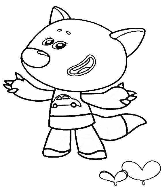 Раскраски Мимимишки - детские раскраски распечатать бесплатно