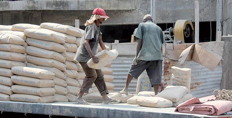 Ciment : La consommation chute de 4,4% en janvier