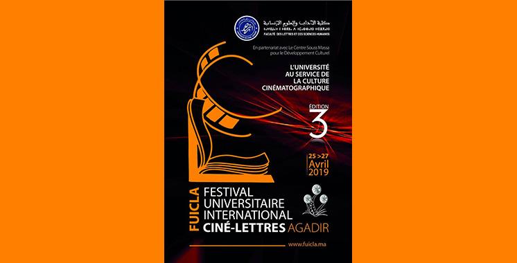 Agadir : Et de trois pour le Festival universitaire international ciné-lettres