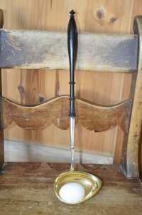 Soppakauha, Gustaf Lindell (Kustaa Hiekka), 813 hopeaa, N4 = 1894, Tampere, paino puuvarren kanssa 155 gr