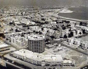 Old Salmiya Kuwait Aerial