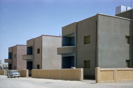 old modern kuwait public housing project