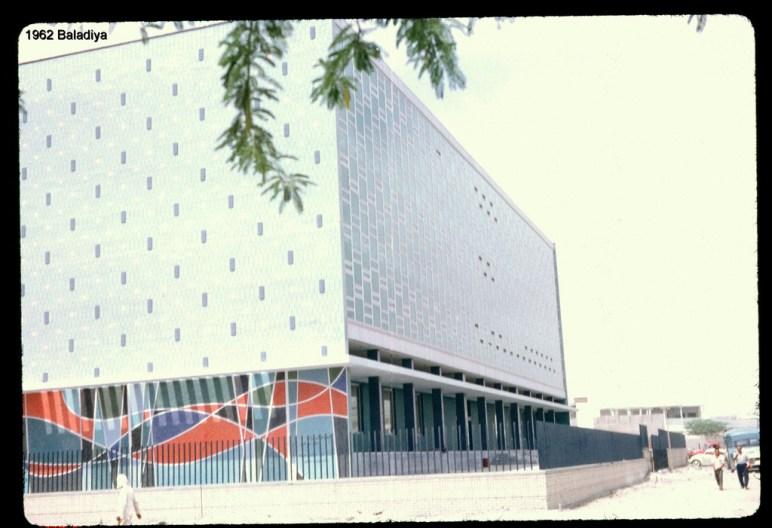 kuwait modern municipality building