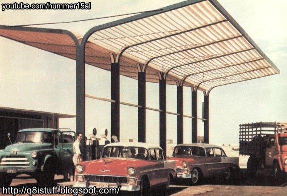 kuwait old gas station