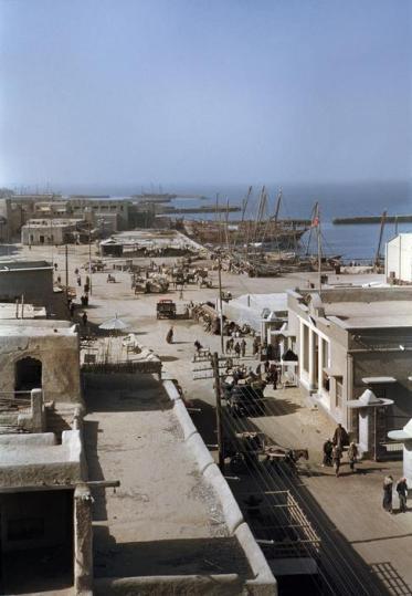 old kuwait port harbor