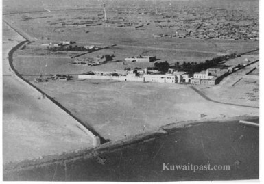 old kuwait aerial neighborhood palace dasman