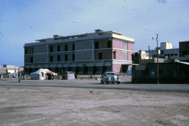 modern kuwait residential building