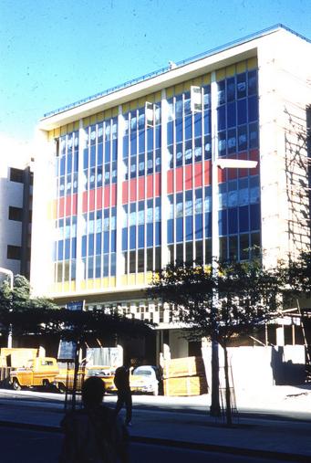 modern kuwait building
