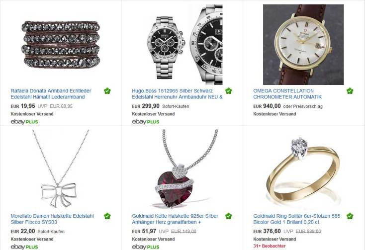 Uhren & Schmuck zu Weihnachten schenken
