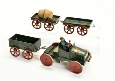 Victor Bonnet, Automobil mit Anhänger