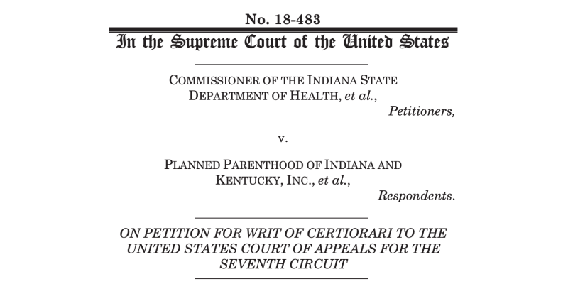 AUL files U.S. Supreme Court brief supporting  humane and dignified treatment of human fetal remains