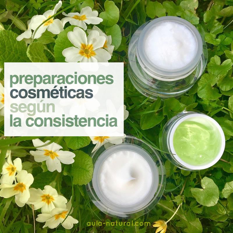 Preparaciones cosméticas: qué podemos elaborar