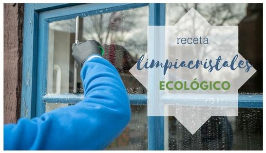 Receta limpiacristales ecológico