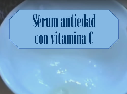 Sérum antiedad con vitamina C