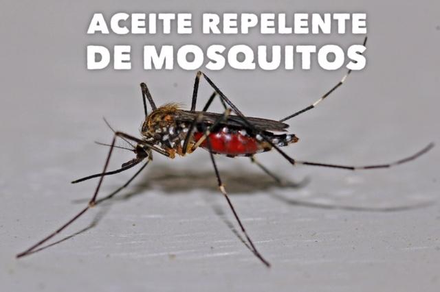 aceite repelente de mosquitos