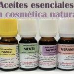 Aceites esenciales en cosmética natural: precauciones y recomendaciones