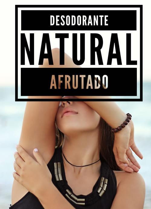Desodorante natural afrutado