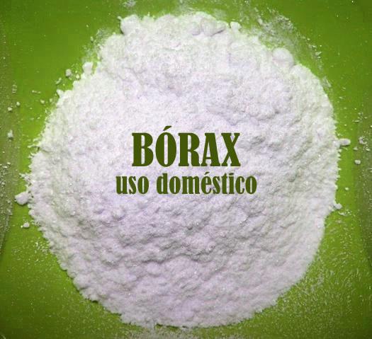 Bórax: uso doméstico