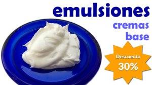 30% descuento curso Emulsiones Naturales