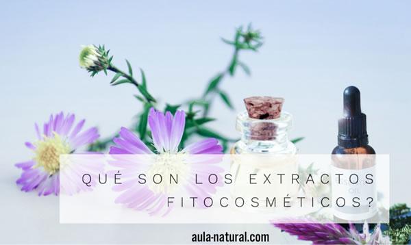 ¿Qué son los extractos fitocosméticos?