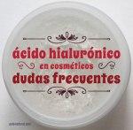 Ácido hialurónico en cosméticos: dudas frecuentes