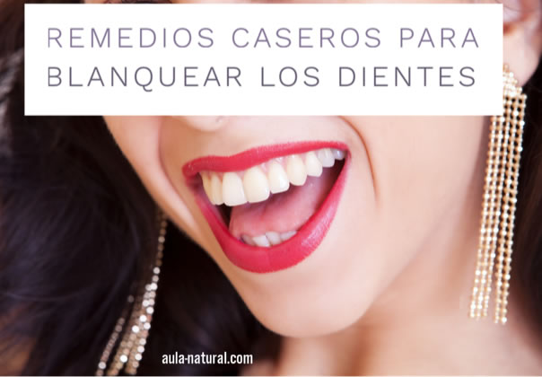 recetas naturales gestation aclarar los dientes
