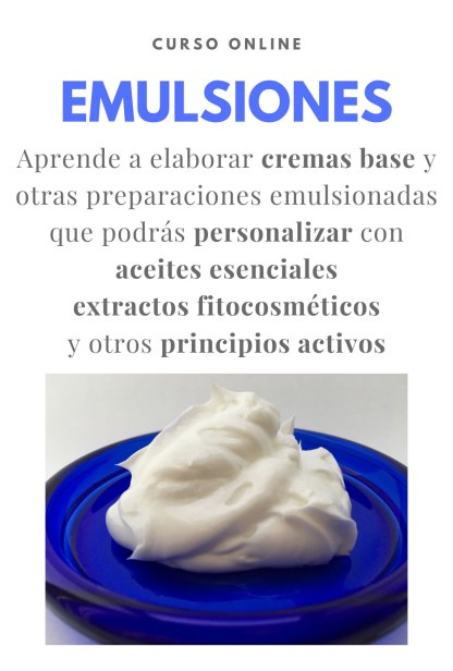 Curso online Emulsiones