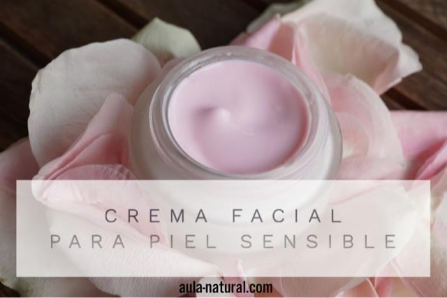 Cómo hacer una crema para piel sensible