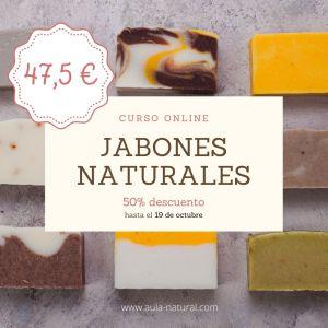 Curso online Jabones: oferta 50% descuento
