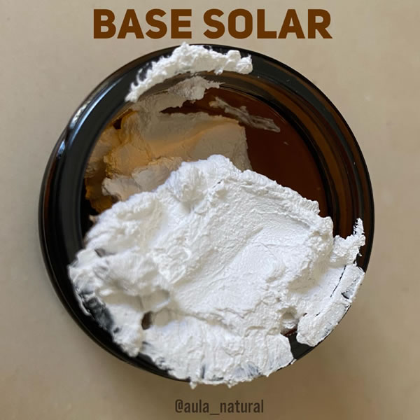 Base con protección solar