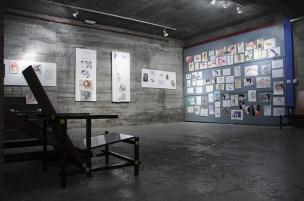 """Exposición colectiva dos traballos da asignatura de """"Expresión Gráfica"""" 2012/13"""