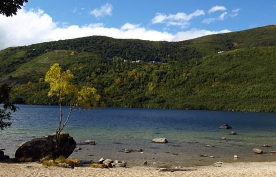 Panorámica ladera S Martín en otoño