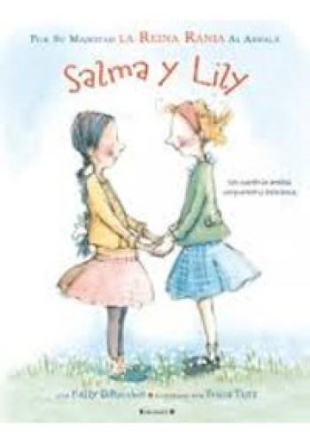Portada del cuento Salma y Lily
