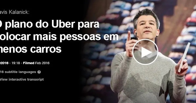 Travis Kalanick_ O plano do Uber