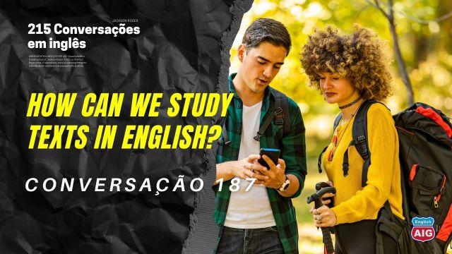 Conversações em inglês com áudios