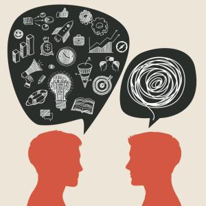 Os problemas de comunicação surgem quando não compreendemos o que o outro disse