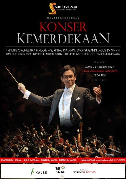 Image result for konser kemerdekaan 2017 addie ms