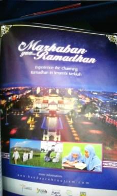 Intermezzo saja, ternyata iklan Visit Banda Aceh kali ini tentang Ramadhan di Aceh