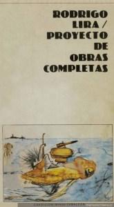 Primera edición de Proyecto de Obras Completas. Editorial Minga (1984, Santiago de Chile). Fuente.