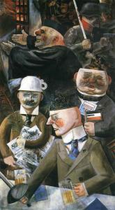 Los pilares de la sociedad, George Grosz