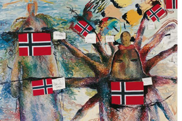 Una antología de poesía joven noruega