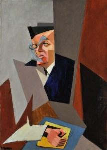 Retrato de Tristan Tzara por Lajos Tihanyi
