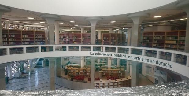 Biblioteca de la Universidad de las Artes