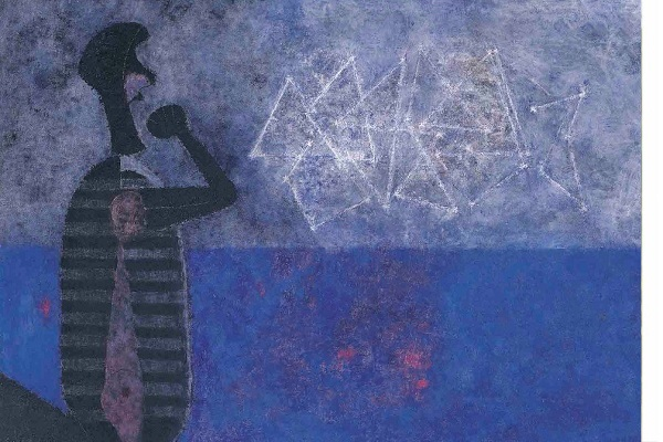 La gran galaxia (1978) de Rufino Tamayo.