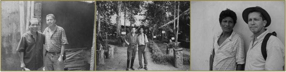 Fotos de Galeano en la Amazonía.