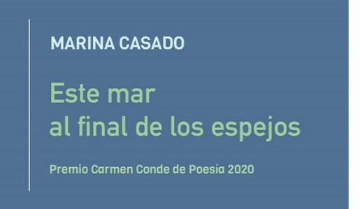 Este mar al final de los espejos. Marina Casado. Reseña El desfallecimiento de los amaneceres. Revista Aullido literatura.
