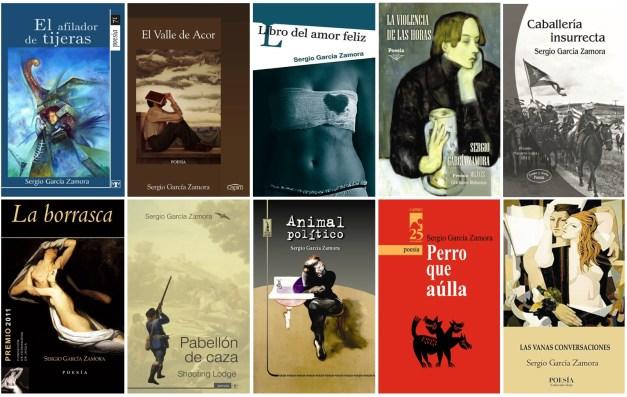 Libros de Sergio García Zamora editados en Cuba