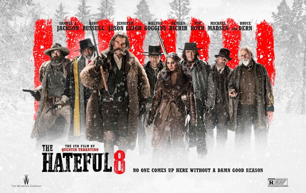 hateful eight quad poster